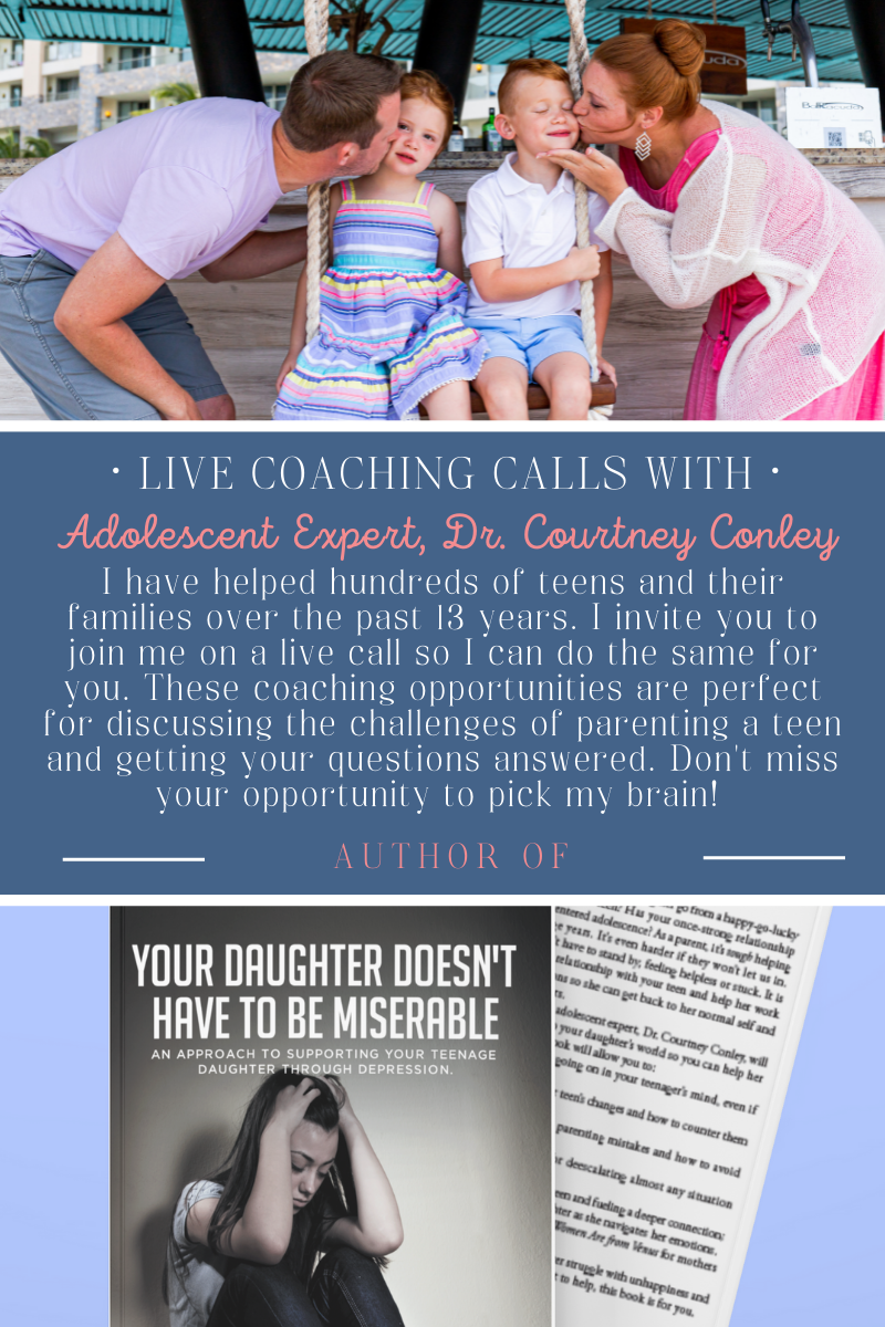 Live Coaching Calls with Dr. Courtney Conley